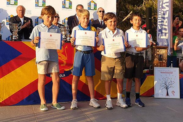 Quince socios de la RSHECC participaron en el Campeonato de España Infantil, Alevín y Benjamín