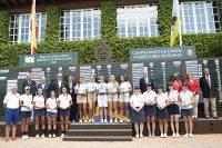 El equipo de Golf Escorpión, triunfador en el Campeonato de España Interclubes Femenino celebrado en la RSHECC