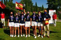 Andrea Revuelta, en el equipo ganador del Campeonato de Federaciones Autonómicas Absoluto Femenino